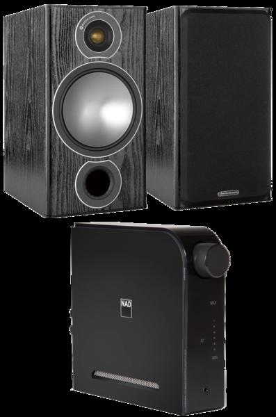 Pachete PROMO STEREO Pachet PROMO Monitor Audio Bronze 2 + NAD D3020 V2Pachet PROMO Monitor Audio Bronze 2 + NAD D3020 V2