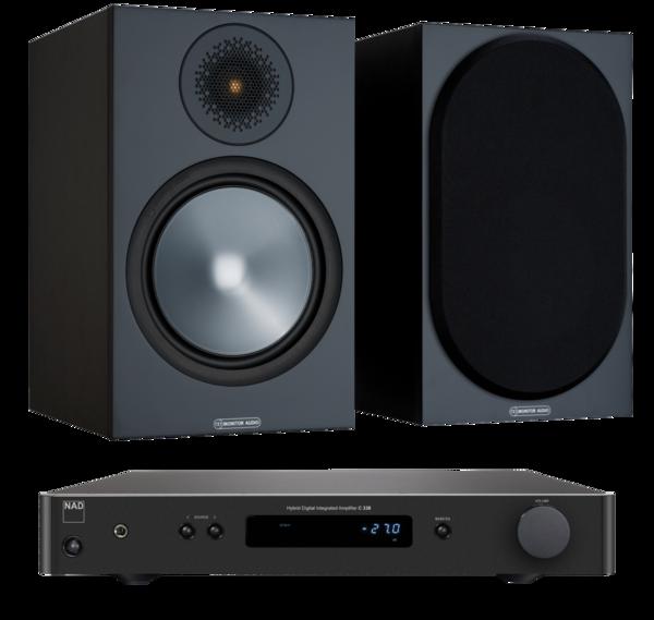 Pachete PROMO STEREO Pachet PROMO Monitor Audio Bronze 100 + NAD C 338Pachet PROMO Monitor Audio Bronze 100 + NAD C 338