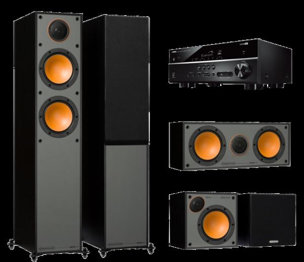 Pachete PROMO SURROUND Pachet PROMO Monitor Audio Monitor 200 pachet 5.0 + Yamaha RX-V385Pachet PROMO Monitor Audio Monitor 200 pachet 5.0 + Yamaha RX-V385