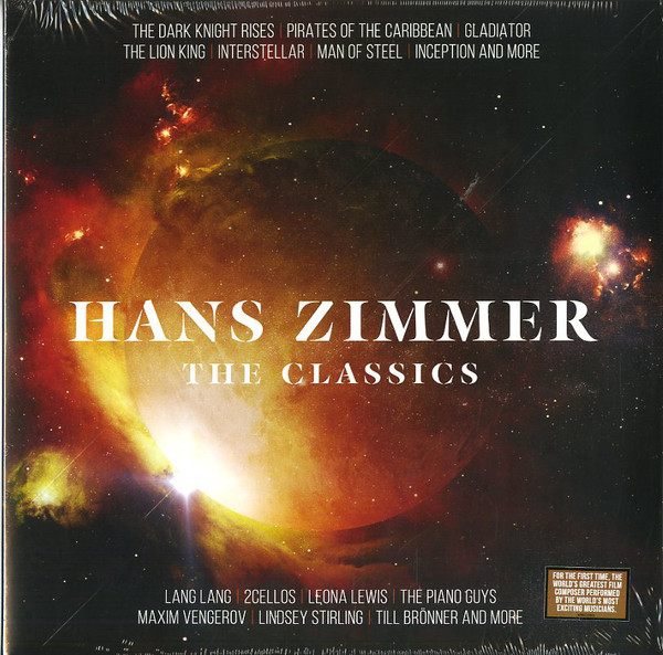 Viniluri VINIL Universal Records Hans Zimmer - The ClassicsVINIL Universal Records Hans Zimmer - The Classics