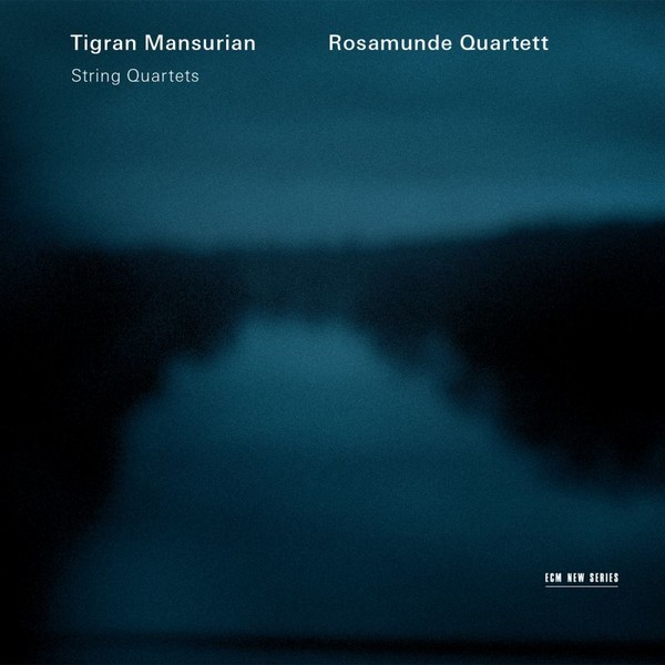 Muzica CD CD ECM Records Rosamunde Quartett - Tigran Mansurian: String QuartetsCD ECM Records Rosamunde Quartett - Tigran Mansurian: String Quartets