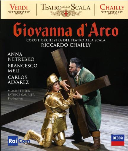 DVD & Bluray BLURAY Decca Giuseppe Verdi - Giovanna D'Arco ( Netrebko, Chailly, Teatro Alla Scala )BLURAY Decca Giuseppe Verdi - Giovanna D'Arco ( Netrebko, Chailly, Teatro Alla Scala )