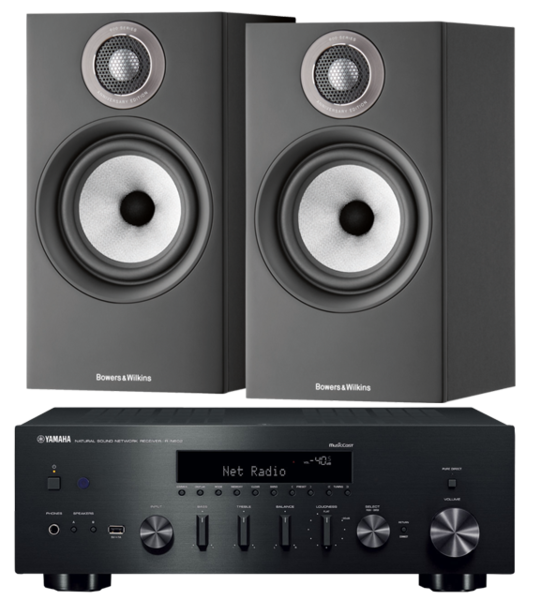 Pachete PROMO STEREO Pachet PROMO Bowers & Wilkins 607 S2 Anniversary Edition + Yamaha R-N602Pachet PROMO Bowers & Wilkins 607 S2 Anniversary Edition + Yamaha R-N602