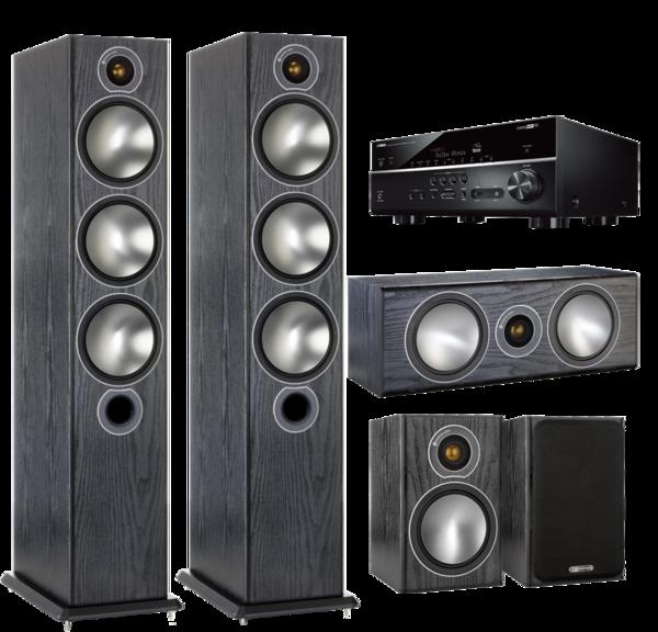 Pachete PROMO SURROUND Pachet PROMO Monitor Audio Bronze 6 pachet 5.0 + Yamaha RX-V685Pachet PROMO Monitor Audio Bronze 6 pachet 5.0 + Yamaha RX-V685