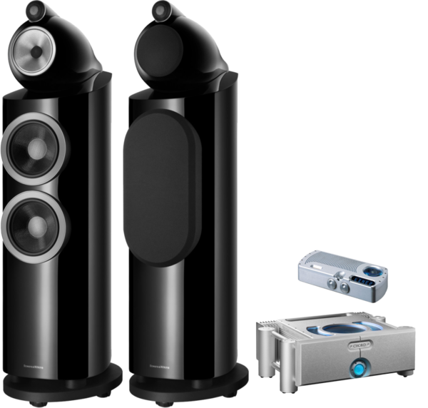 Pachete PROMO STEREO Pachet PROMO Bowers & Wilkins 803 D3 + Chord Electronics Prima si Ultima 6Pachet PROMO Bowers & Wilkins 803 D3 + Chord Electronics Prima si Ultima 6