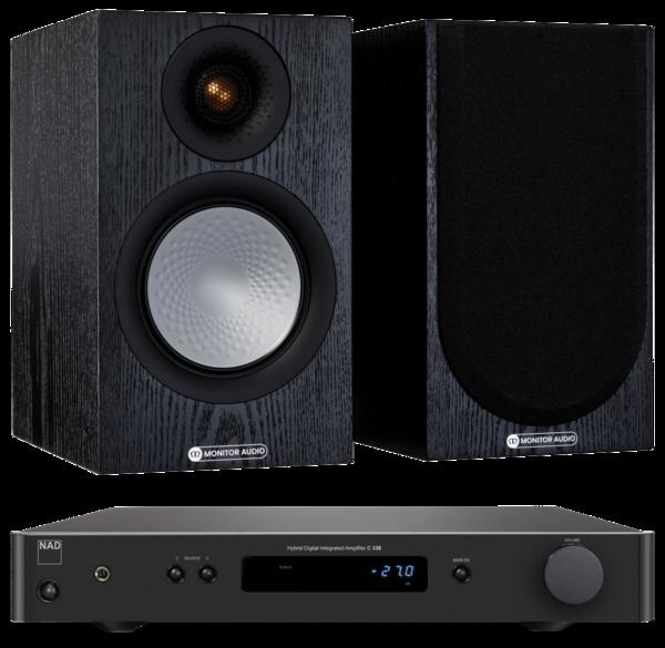 Pachete PROMO STEREO Pachet PROMO Monitor Audio Silver 50 (7G) + NAD  338Pachet PROMO Monitor Audio Silver 50 (7G) + NAD  338