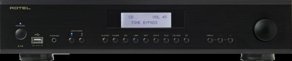 Amplificatoare integrate Amplificator Rotel A-14 Negru ResigilatAmplificator Rotel A-14 Negru Resigilat