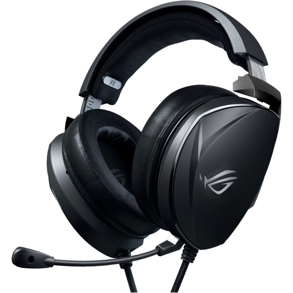 Casti  Asus - ROG THETA ELECTRET 3.5mm gaming headset with Essence electret and bass driver delivering hi-fidelity sound and optimized bass, certified built-in boom microphone, durable metal ear cup and yoke for better heat extraction, fast-cooling ROG Hybrid ear cushions, and multiplatform support for PC, consoles and mobile gaming Asus - ROG THETA ELECTRET 3.5mm gaming headset with Essence electret and bass driver delivering hi-fidelity sound and optimized bass, certified built-in boom microphone, durable metal ear cup and yoke for better heat extraction, fast-cooling ROG Hybrid ear cushions, and multiplatform support for PC, consoles and mobile gaming