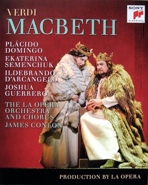 DVD & Bluray BLURAY Universal Records Verdi - Macbeth ( Domingo, Semenchuk, Conlon )BLURAY Universal Records Verdi - Macbeth ( Domingo, Semenchuk, Conlon )