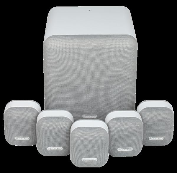 Boxe Boxe Monitor Audio MASS 5.1 White ResigilatBoxe Monitor Audio MASS 5.1 White Resigilat