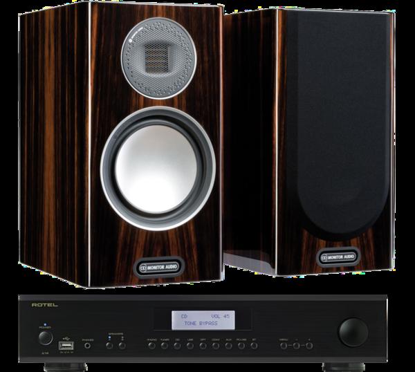 Pachete PROMO STEREO Pachet PROMO Monitor Audio Gold 100 (5G) + Rotel A-14Pachet PROMO Monitor Audio Gold 100 (5G) + Rotel A-14