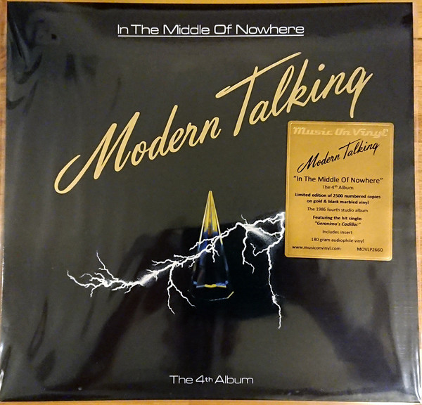 Viniluri VINIL Universal Records Modern Talking - In The Middle Of NowhereVINIL Universal Records Modern Talking - In The Middle Of Nowhere