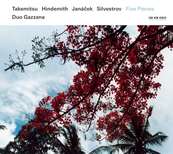 Muzica CD CD ECM Records Duo Gazzana: Five Pieces - Takemitsu / Hindemith / Janacek / SilvestrovCD ECM Records Duo Gazzana: Five Pieces - Takemitsu / Hindemith / Janacek / Silvestrov