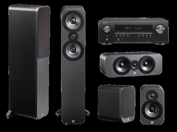 Pachete PROMO SURROUND Pachet PROMO Q Acoustics 3050 pachet 5.0 + Denon AVR-S650HPachet PROMO Q Acoustics 3050 pachet 5.0 + Denon AVR-S650H