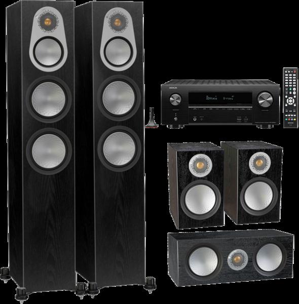 Pachete PROMO SURROUND Pachet PROMO Monitor Audio Silver 300 5.0 + Denon AVR-X2600HPachet PROMO Monitor Audio Silver 300 5.0 + Denon AVR-X2600H