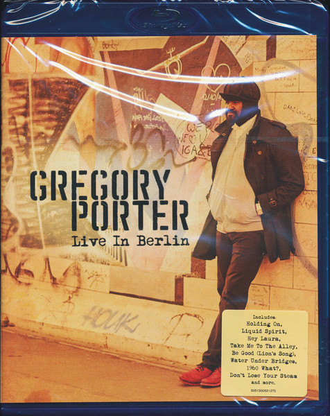 DVD & Bluray BLURAY Universal Records Gregory Porter - Live In BerlinBLURAY Universal Records Gregory Porter - Live In Berlin