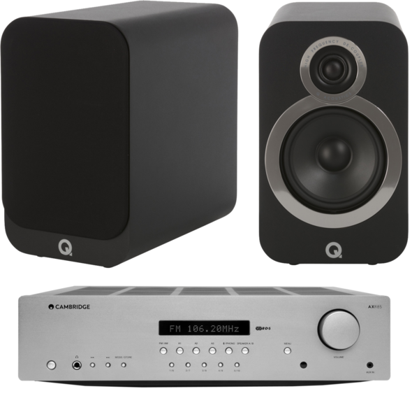 Pachete PROMO STEREO Pachet PROMO Q Acoustics 3020i + Cambridge Audio AXR85Pachet PROMO Q Acoustics 3020i + Cambridge Audio AXR85