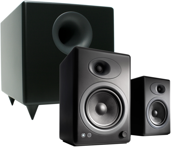 Pachete PROMO STEREO Pachet PROMO Audioengine A5+ + Audioengine S8Pachet PROMO Audioengine A5+ + Audioengine S8