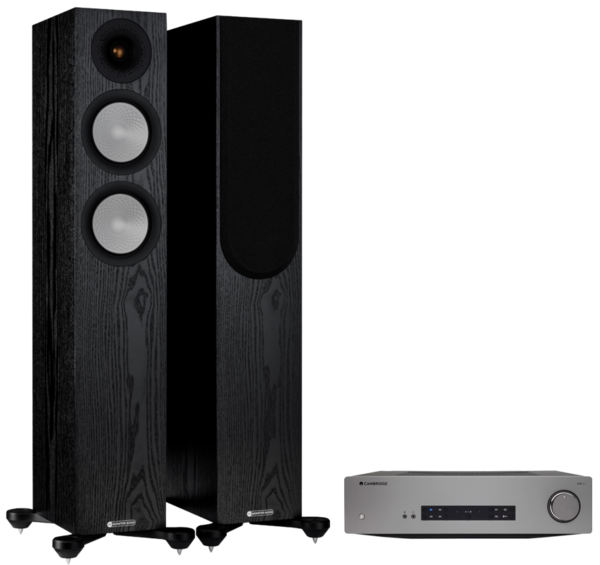Pachete PROMO STEREO Pachet PROMO Monitor Audio Silver 200 (7G) + Cambridge Audio CXA61Pachet PROMO Monitor Audio Silver 200 (7G) + Cambridge Audio CXA61