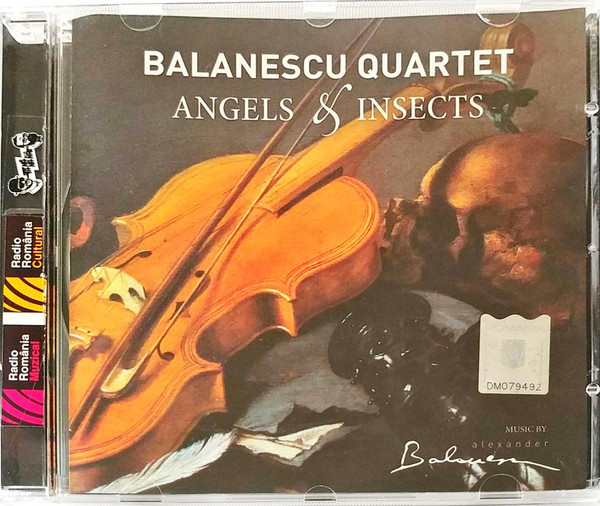 Muzica CD CD Universal Music Romania Balanescu Quartet - Angels And InsectsCD Universal Music Romania Balanescu Quartet - Angels And Insects
