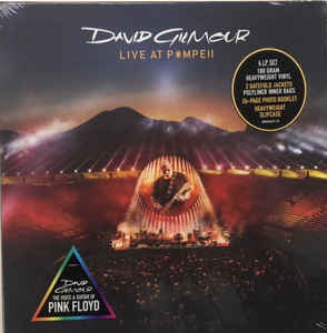 Viniluri VINIL Universal Records DAVID GILMOUR - LIVE AT POMPEIIVINIL Universal Records DAVID GILMOUR - LIVE AT POMPEII