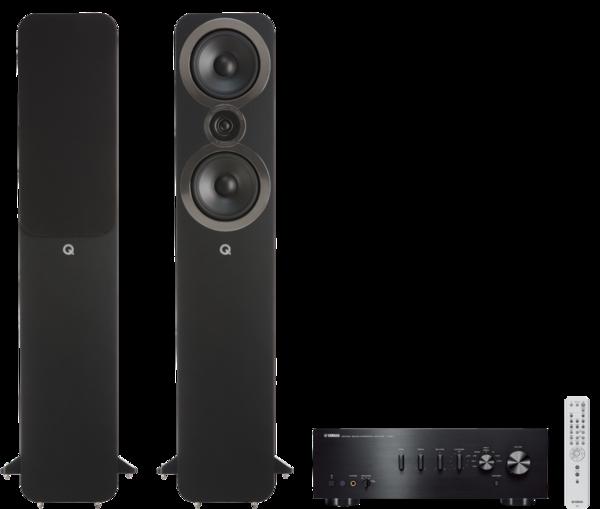 Pachete PROMO STEREO Pachet PROMO Q Acoustics 3050i + Yamaha A-S501Pachet PROMO Q Acoustics 3050i + Yamaha A-S501