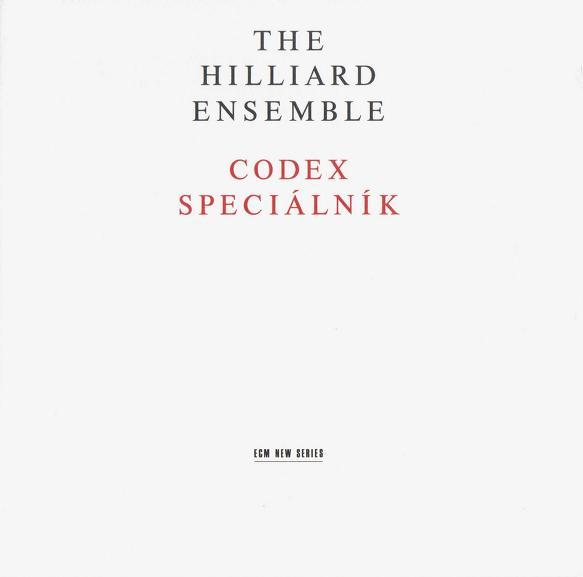 Muzica CD CD ECM Records Hilliard Ensemble: Codex SpecialnikCD ECM Records Hilliard Ensemble: Codex Specialnik
