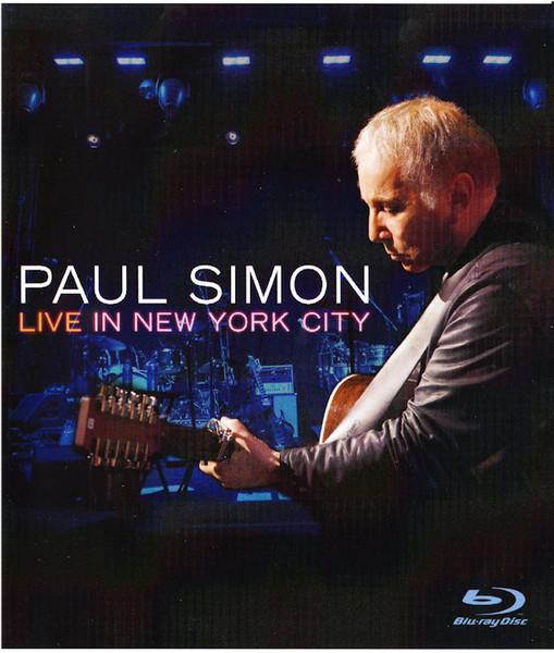 DVD & Bluray BLURAY Universal Records Paul Simon - Live In New York CityBLURAY Universal Records Paul Simon - Live In New York City
