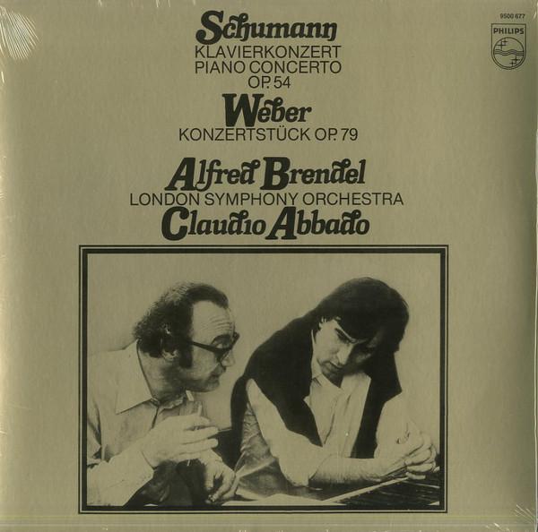 Viniluri VINIL Universal Records Schumann, Weber - Klavierkonzert Op. 54 ( Brendel, LSO, Abbado )VINIL Universal Records Schumann, Weber - Klavierkonzert Op. 54 ( Brendel, LSO, Abbado )