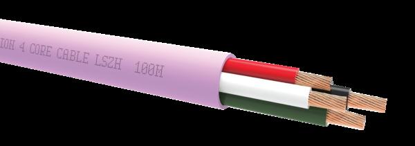 Cabluri audio Cablu QED QX16/4 LSZH PinkCablu QED QX16/4 LSZH Pink
