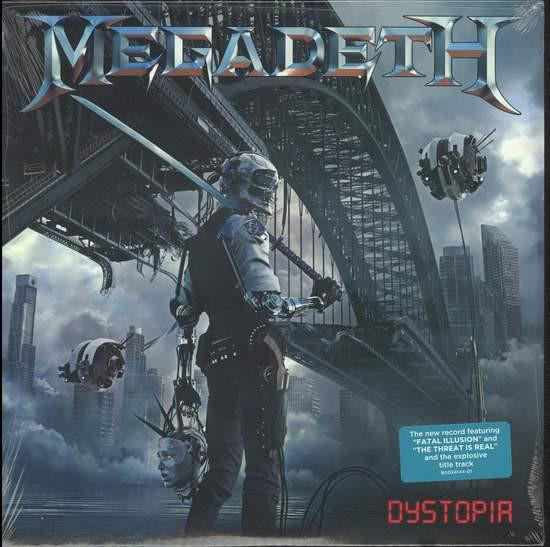 Viniluri VINIL Universal Records Megadeth - DystopiaVINIL Universal Records Megadeth - Dystopia