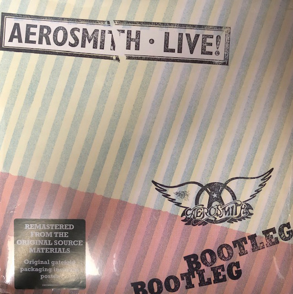 Viniluri VINIL Universal Records Aerosmith - Live BootlegVINIL Universal Records Aerosmith - Live Bootleg