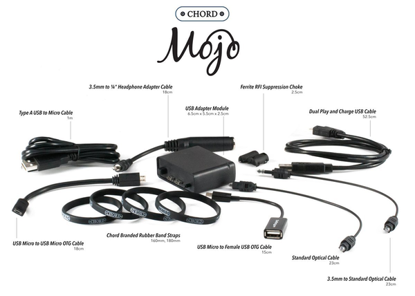Cabluri audio Cablu Chord Electronics Mojo Cable PackCablu Chord Electronics Mojo Cable Pack