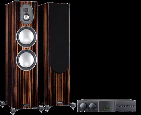 Pachete PROMO STEREO Pachet PROMO Monitor Audio Gold 300 (5G) + Naim Supernait 3Pachet PROMO Monitor Audio Gold 300 (5G) + Naim Supernait 3