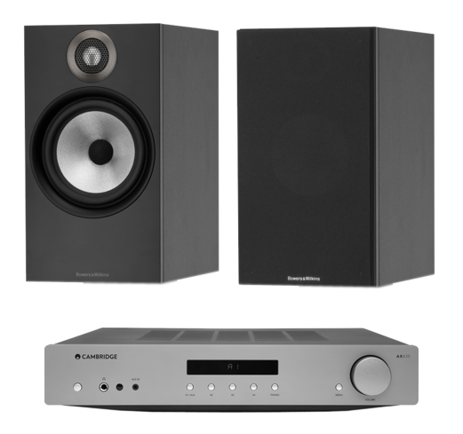 Pachete PROMO STEREO Pachet PROMO Bowers & Wilkins 607 + Cambridge Audio AXA35Pachet PROMO Bowers & Wilkins 607 + Cambridge Audio AXA35