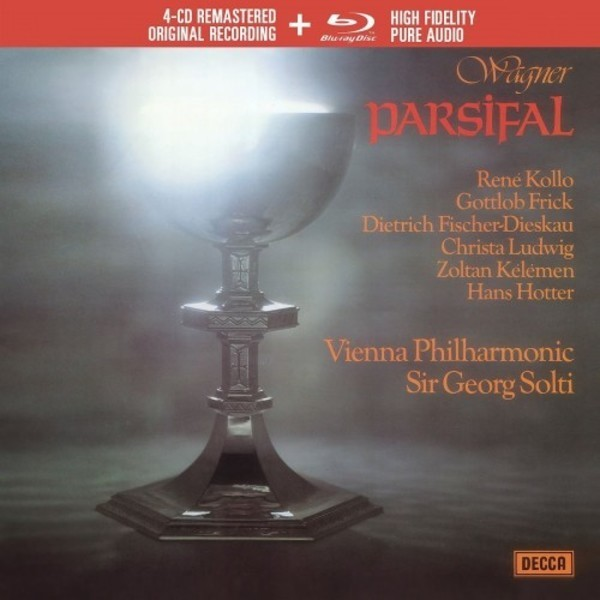 Muzica CD CD Decca Wagner: Parsifal ( Solti - Kollo, Frick, Ludwig ) CD + BluRay AudioCD Decca Wagner: Parsifal ( Solti - Kollo, Frick, Ludwig ) CD + BluRay Audio