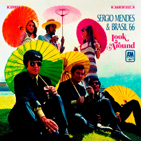 Viniluri VINIL Universal Records Sergio Mendes & Brasil 66 - Look AroundVINIL Universal Records Sergio Mendes & Brasil 66 - Look Around