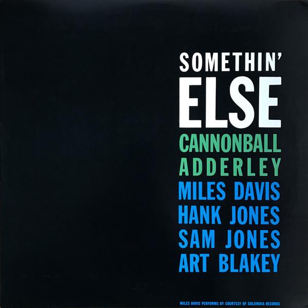 Viniluri VINIL Universal Records Cannonball Adderley - Somethin' ElseVINIL Universal Records Cannonball Adderley - Somethin' Else