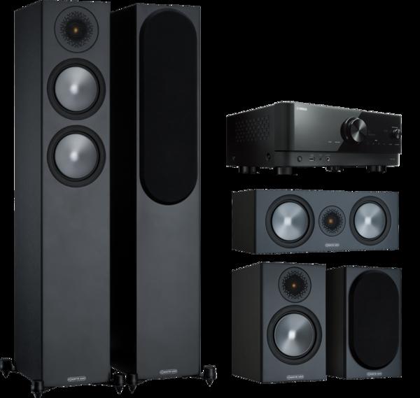 Pachete PROMO SURROUND Pachet PROMO Monitor Audio Bronze 200 pachet 5.0 + Yamaha RX-V4APachet PROMO Monitor Audio Bronze 200 pachet 5.0 + Yamaha RX-V4A