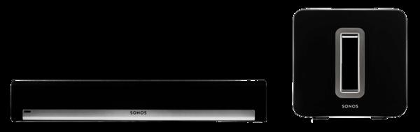 Boxe Amplificate Sonos Playbar + Sonos Sub NegruSonos Playbar + Sonos Sub Negru