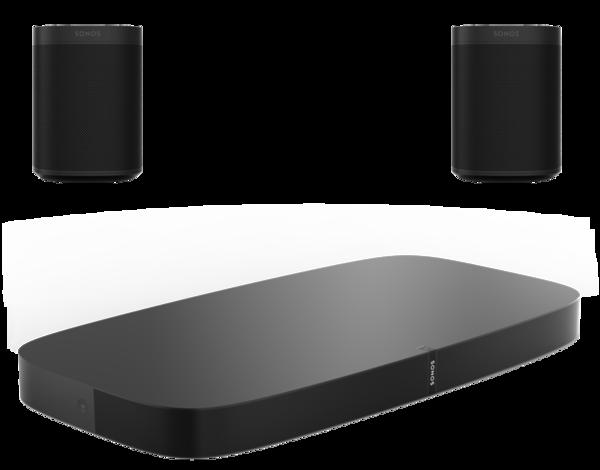 Boxe Amplificate Sonos Playbase + 2 x Sonos One SLSonos Playbase + 2 x Sonos One SL