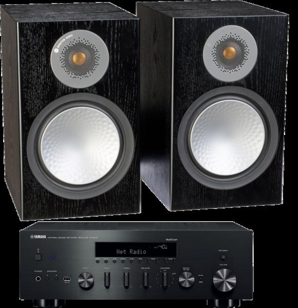 Pachete PROMO STEREO Pachet PROMO Monitor Audio Silver 100 + Yamaha R-N602Pachet PROMO Monitor Audio Silver 100 + Yamaha R-N602