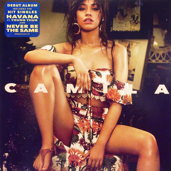 Viniluri VINIL Universal Records Camila Cabello - CamilaVINIL Universal Records Camila Cabello - Camila