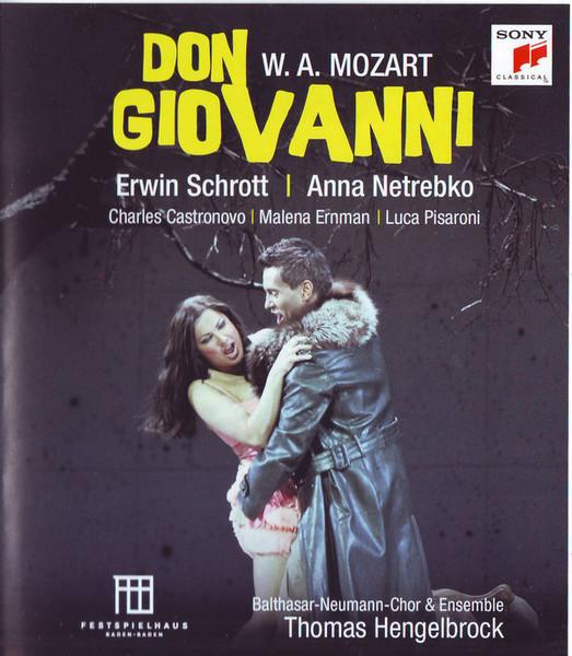 DVD & Bluray BLURAY Universal Records Mozart - Don Giovanni ( Schrott, Netrebko )BLURAY Universal Records Mozart - Don Giovanni ( Schrott, Netrebko )
