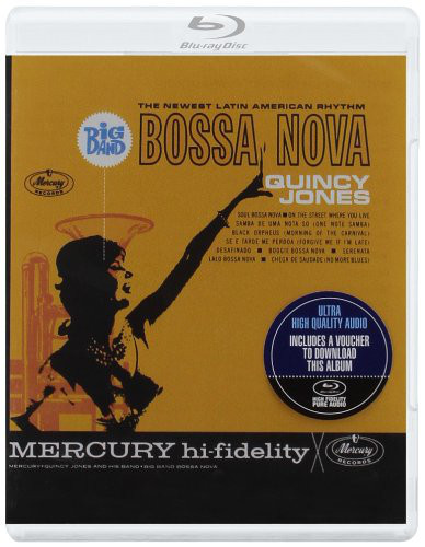 DVD & Bluray BLURAY Universal Records Quincy Jones - Big Band Bossa Nova (BluRay Audio)BLURAY Universal Records Quincy Jones - Big Band Bossa Nova (BluRay Audio)