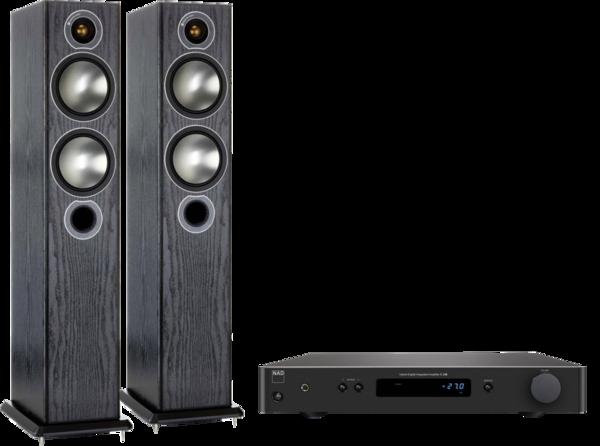 Pachete PROMO STEREO Pachet PROMO Monitor Audio Bronze 5 + NAD C 338Pachet PROMO Monitor Audio Bronze 5 + NAD C 338