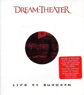 DVD & Bluray BLURAY Universal Records Dream Theater - Live At BudokanBLURAY Universal Records Dream Theater - Live At Budokan