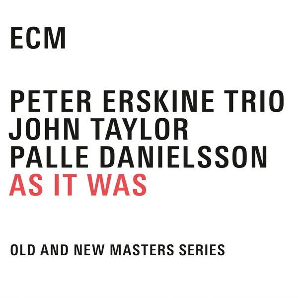 Muzica CD CD ECM Records Peter Erskine Trio: As It Was (4 CD-Box)CD ECM Records Peter Erskine Trio: As It Was (4 CD-Box)
