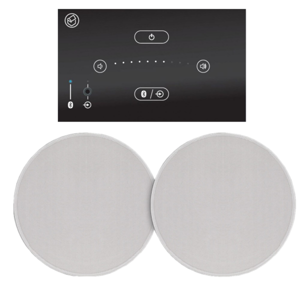 Boxe  Boxe si amplificator stereo in-wall / in ceiling Systemline E50 Stereo Boxe si amplificator stereo in-wall / in ceiling Systemline E50 Stereo
