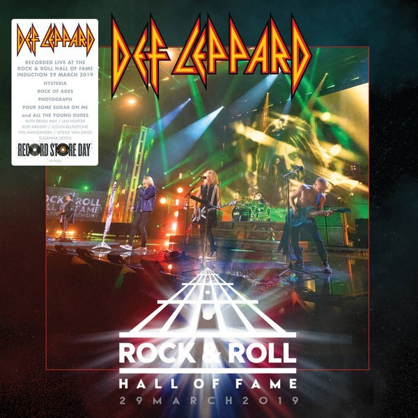 Viniluri VINIL Universal Records Def Leppard - Rock & Roll Hall Of Fame 29 March 2019VINIL Universal Records Def Leppard - Rock & Roll Hall Of Fame 29 March 2019